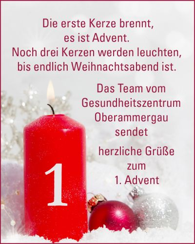 Erster Advent 2018
